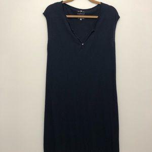 VELVET by Graham & Spencer . Vintage Slub Dress M